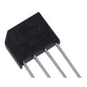 B250C6000 diodový můstek 250V~/6A drát. KBU6J