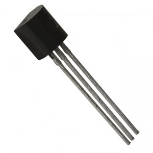 BC557C P UNI 45V/0,1A 0,5W (ß=420-800) 150MHz TO92