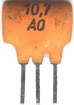 Keramický filtr 10,7MHz FCM
