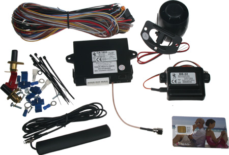 ATHOS autoalarm GSM bez ovladačů