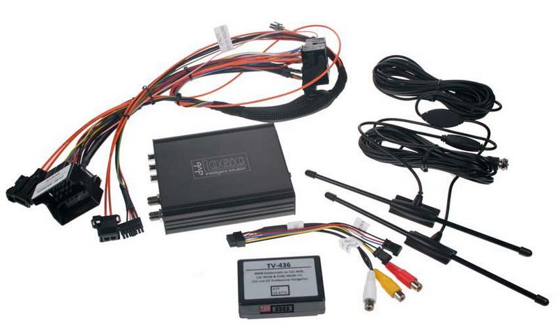 DVB-T TV tuner s přípravou do BMW s Professional CIC