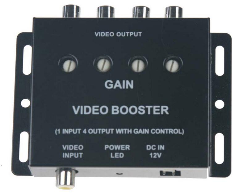 Nastavitelný aktivní rozbočovač video signálu