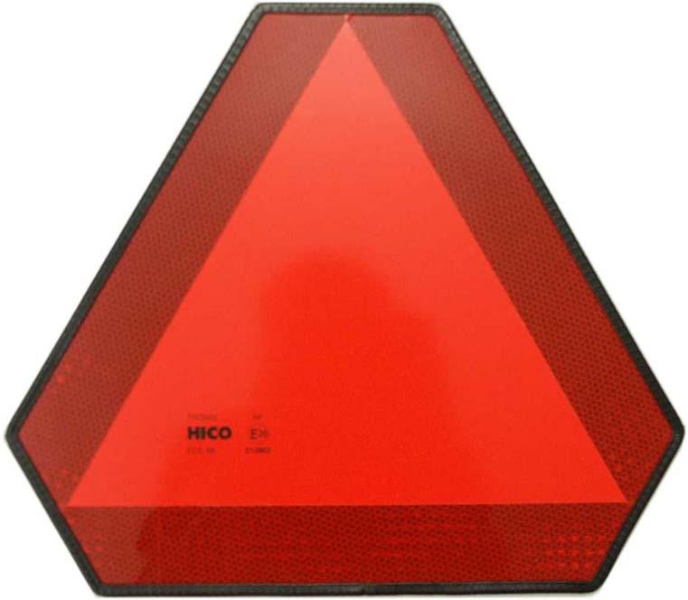 trojúhelník výstražný reflexní hliník
