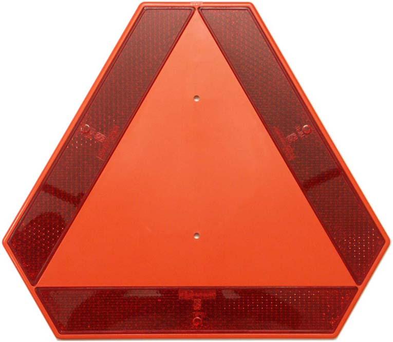 trojúhelník výstražný reflexní plast