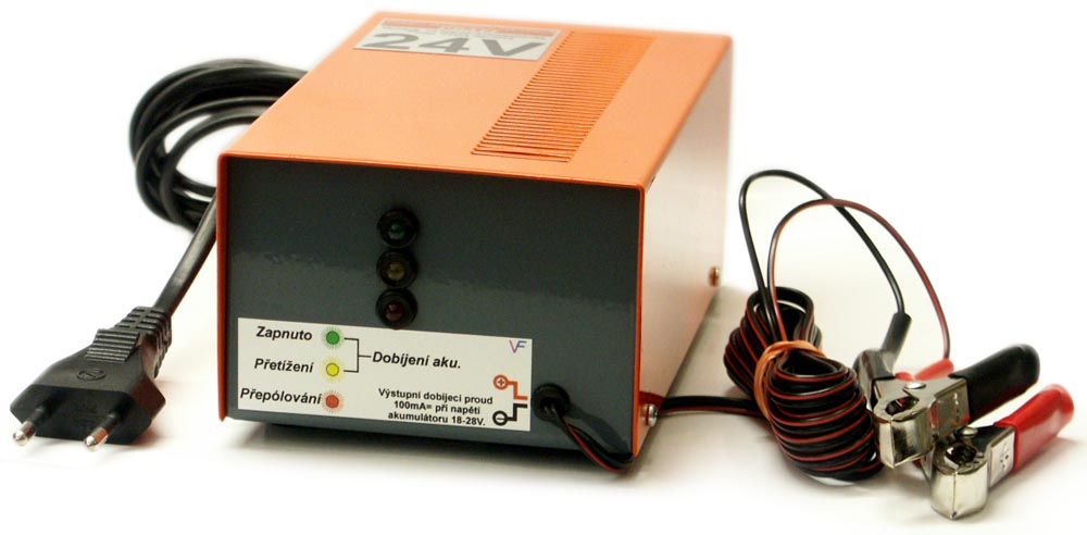 dobíječ akumulátorů 24V