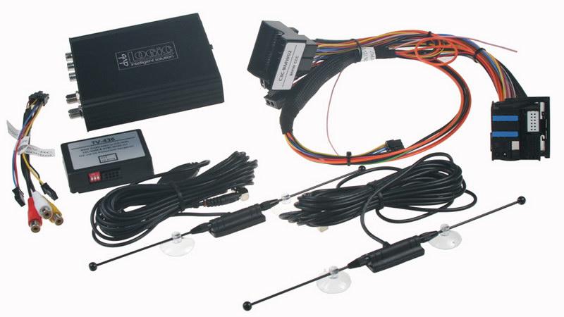 DVB-T TV tuner s přípravou do BMW se starším systémem Professional CCC