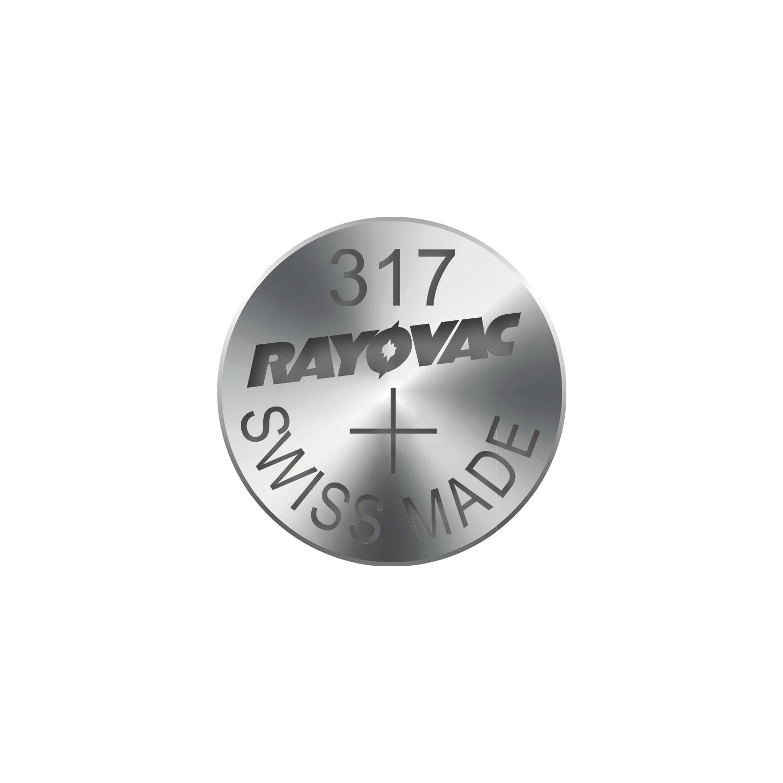 RAYOVAC Knoflíková baterie do hodinek RAYOVAC 317