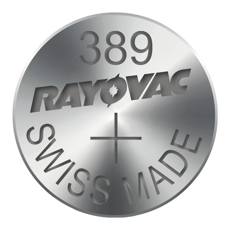 RAYOVAC Knoflíková baterie do hodinek RAYOVAC 389