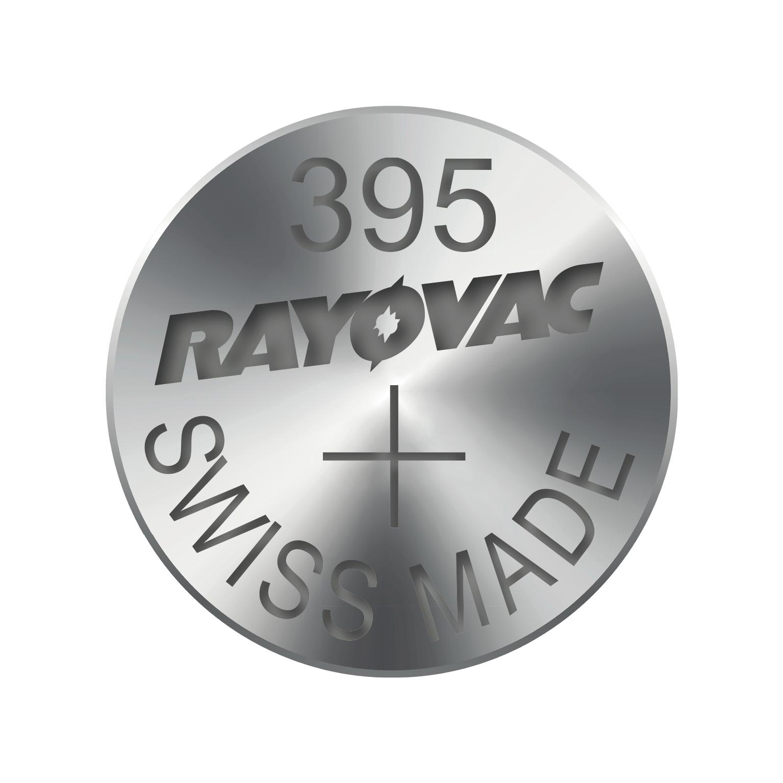 RAYOVAC Knoflíková baterie do hodinek RAYOVAC 395