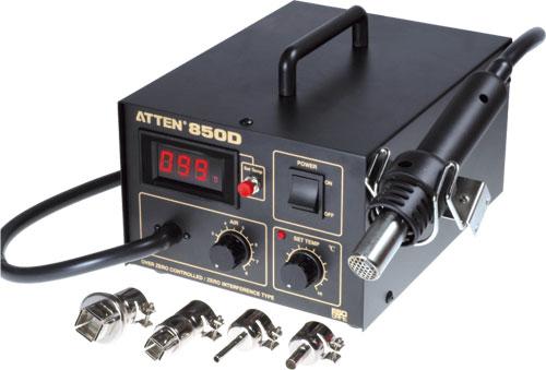 ATTEN Horkovzdušná pájecí stanice AC230V