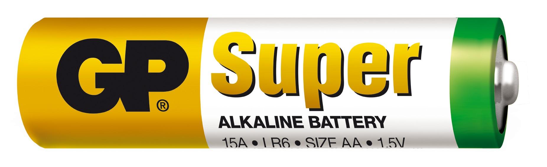 GP BATTERIES Baterie GP Super Alkaline LR6 (AA tužka)