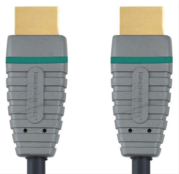 Bandridge HDMI digitální kabel s Ethernetem, 1m, BVL1201