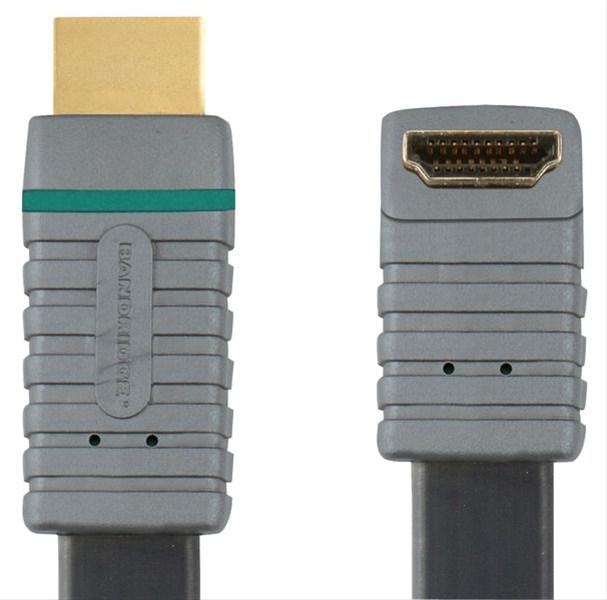Bandridge HDMI digitální kabel úhlový 90, 2m, BVL1332