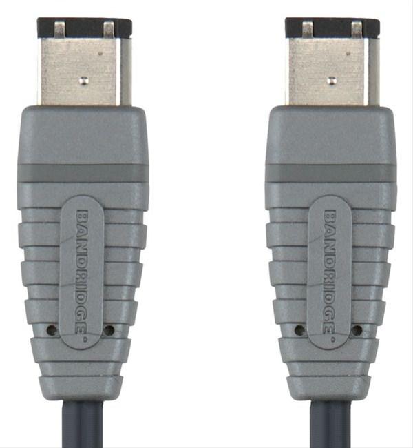 Bandridge 6 - 6 pin FireWire kabel BCL6002