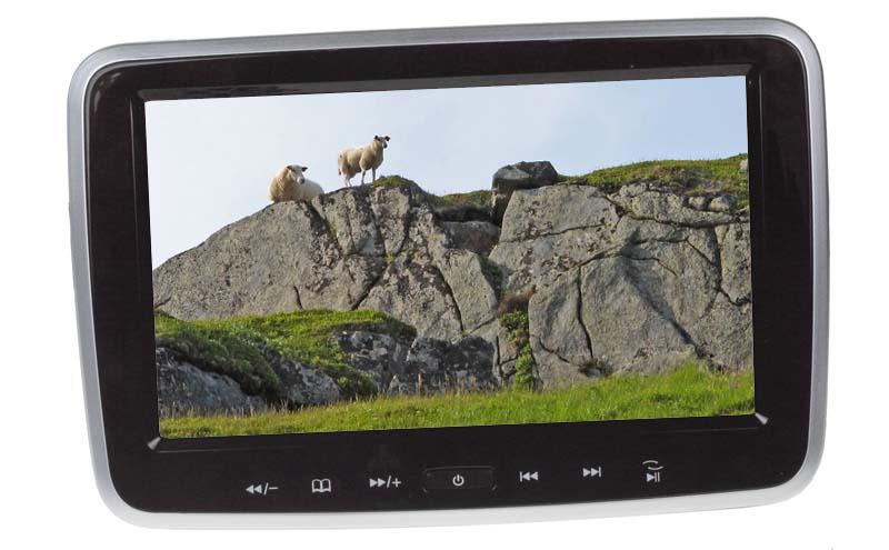 """LCD monitor 7"""" na opěrku s IR/FM vysílačem SD/USB/HDMI"""