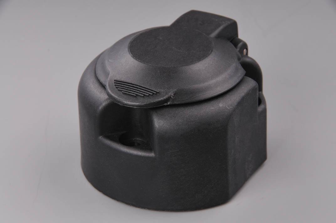 ERICH JAEGER zásuvka 12V 13P plastová s mikrospínačem a těsněním (boční vývod pravý)