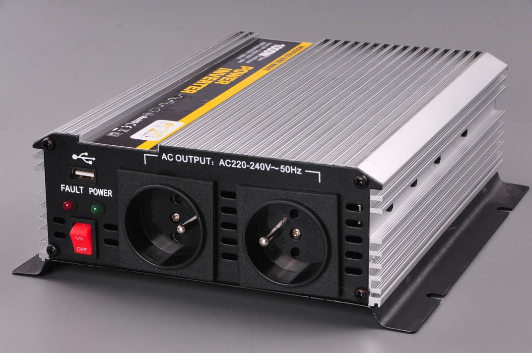 měnič napětí z 12V DC na 230V AC 1000W trvale
