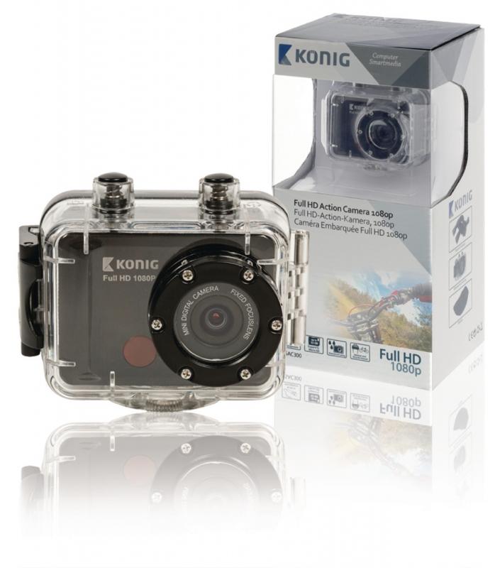 KoNIG Akční Full HD kamera 1080p, vodotěsná