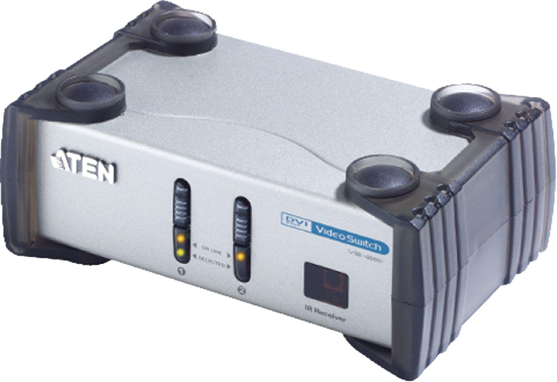 ATEN Video switch DVI-I, 2-port