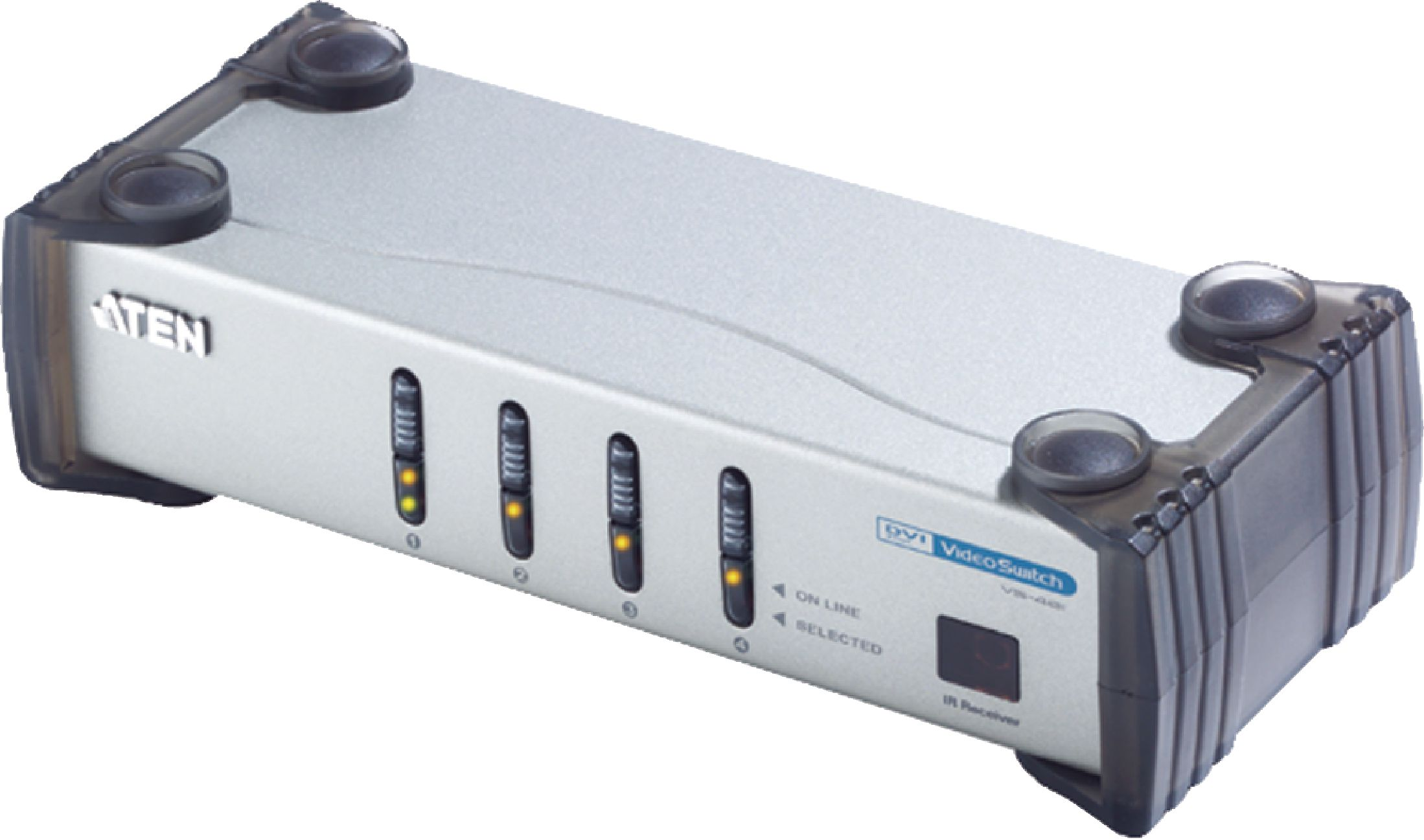 ATEN Video switch DVI-I, 4-port