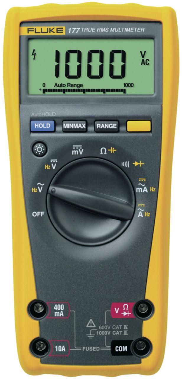 FLUKE Digitální multimetr FLUKE 177 TRMS AC 6000 číslic 1000 VAC 1000 VDC 10 ADC