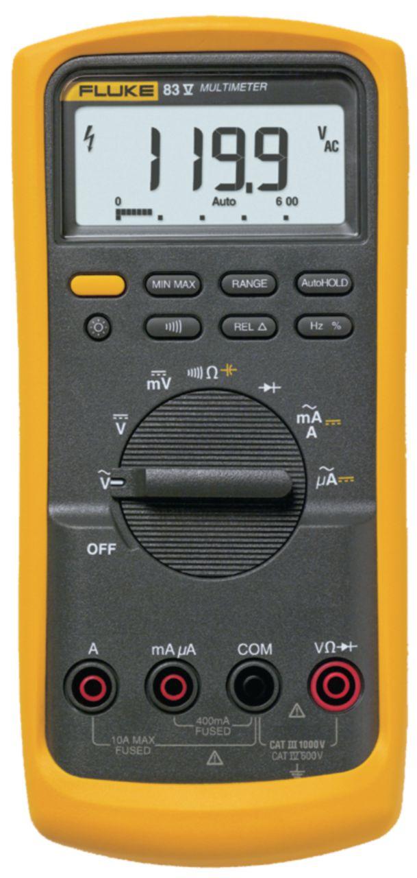 FLUKE Digitální multimetr FLUKE 83-V/EUR Efektivní hodnota 6000 číslic 1000 VAC 1000 VDC 10 ADC