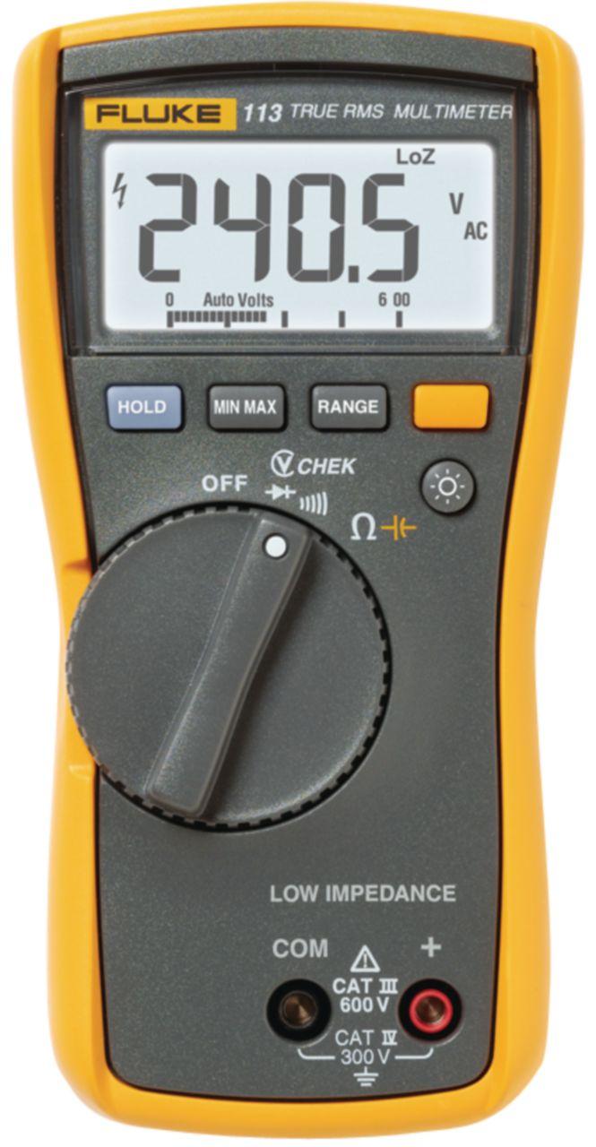 FLUKE Digitální multimetr FLUKE 113 TRMS AC 6000 číslic 600 VAC 600 VDC