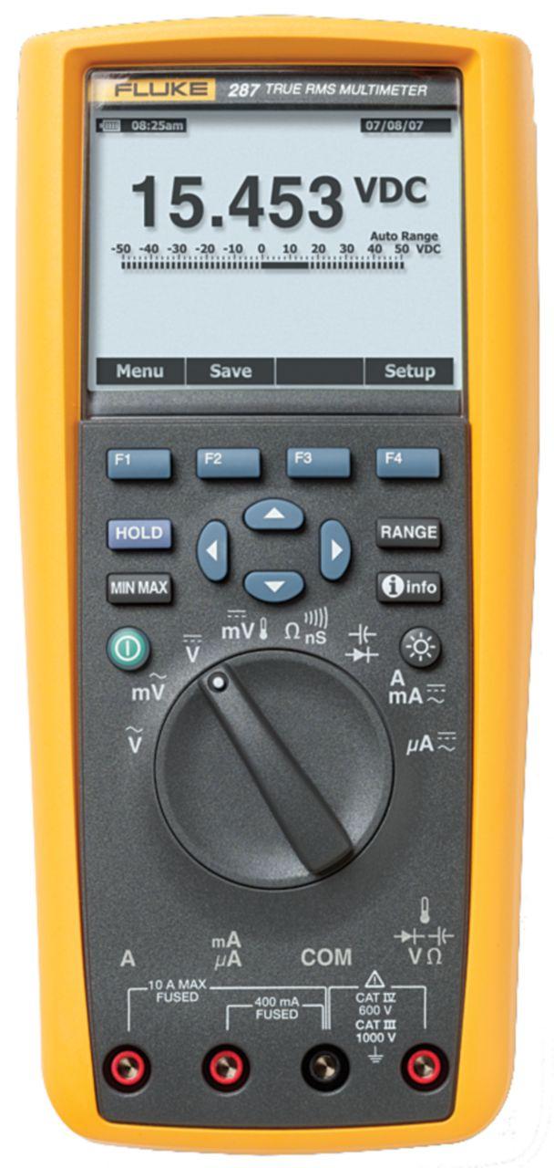 FLUKE Digitální multimetr FLUKE 287/EUR TRMS AC+DC 50000 digits 1000 VAC 1000 VDC 10 ADC