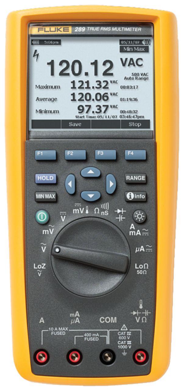 FLUKE Digitální multimetr FLUKE 289/EUR TRMS AC+DC 50000 digits 1000 VAC 1000 VDC 10 ADC