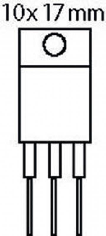 ST-MICROELECTRONICS Triac 600 V 12 A 50 / 100 mAh