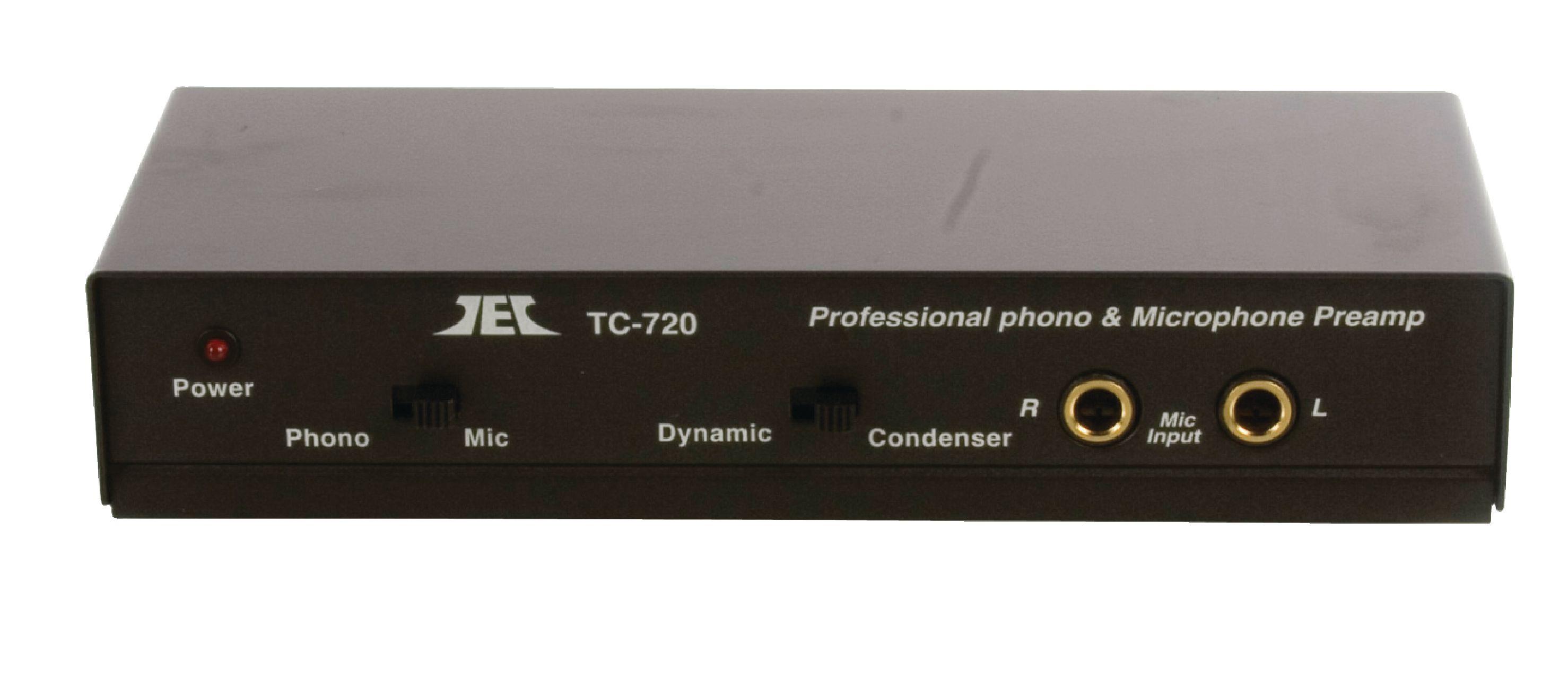 FIXAPART Profesionální předzesilovač gramofon/mikrofon