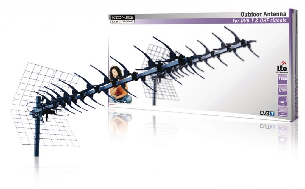 KoNIG Konig 13 prvková UHF anténa s LTE filtrem