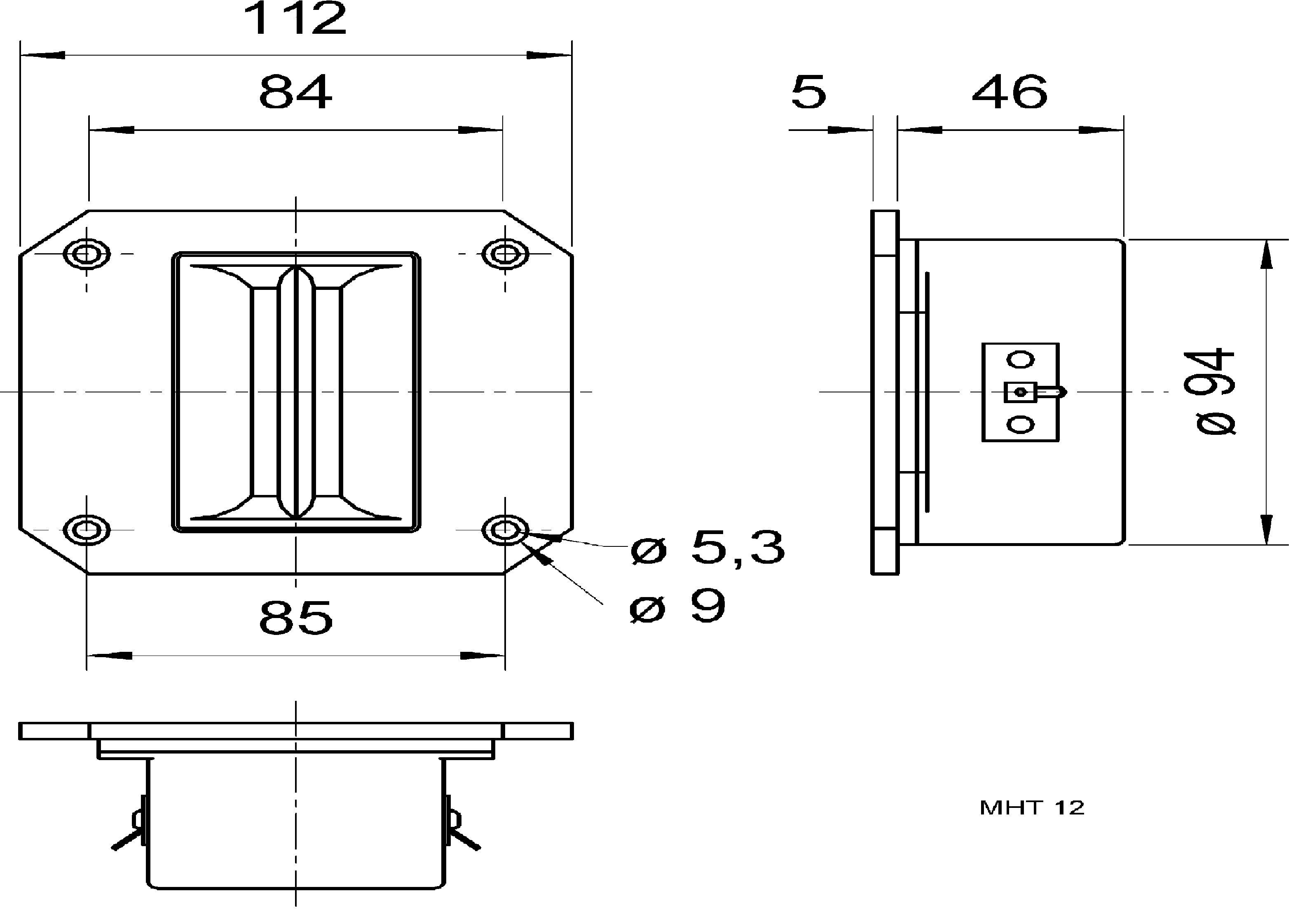 VISATON Výškový reproduktor 8 Ohm