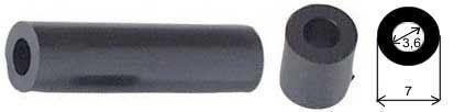 Distanční sloupek plastový 3,6/7mm, v=35mm