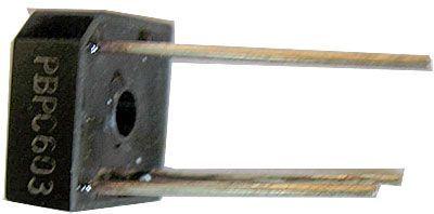 PBPC604 diodový můstek 400V=/6A drát