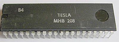 MHB208 - obvod pro polyfonní hudební nástroje