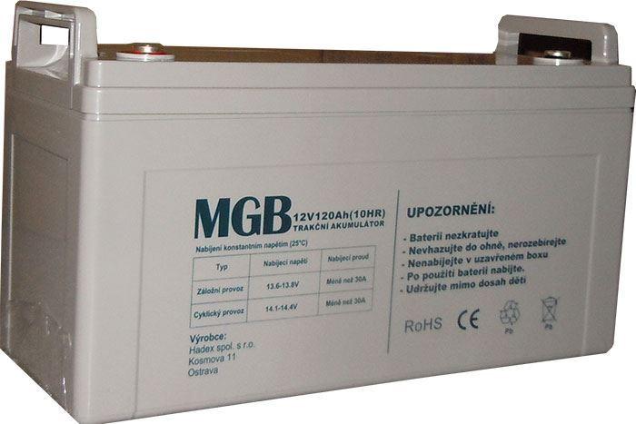 Pb akumulátor MHB VRLA AGM 12V/120Ah trakční