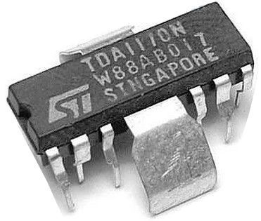 TDA1170N - obvod pro TV a monitory, QIP12