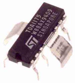 TDA1175N - obvod pro TV a monitory, QIP12