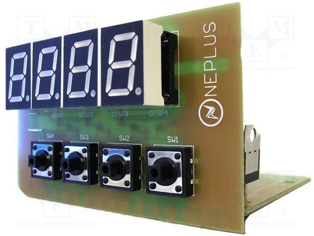 Elektronická stavebnice teploměru -20 C do +120 C 12VDC