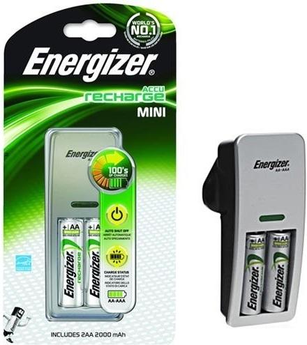 ENERGIZER Nabíječka Energizer MINI AA + 2x AA 2000mAh