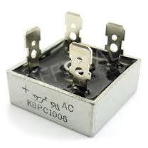 B250C15000 diodový můstek 420V~/15A faston. KBPC1506