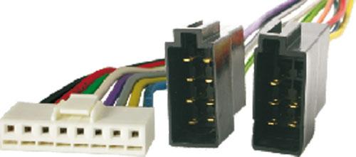 4CARMEDIA Konektor pro autorádio ISO Pioneer 8 PIN