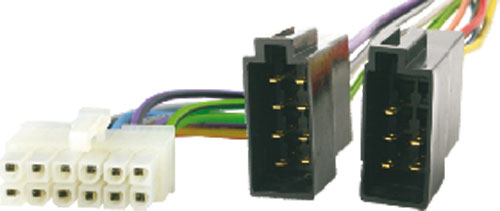 4CARMEDIA Konektor ISO pro autorádio Pioneer 12 PIN