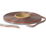 Kabel plochý 1,27mm licna Cu 10x28AWG PVC