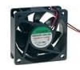 Ventilátor 24VDC 60x60x25mm 39,7m3/h 34,5dBA kuličkové