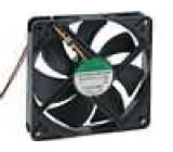 Ventilátor 24VDC 120x120x25mm 127,5m3/h 34dBA kuličkové