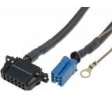 Kabel pro měnič CD ISO mini zásuvka 8pin, VW, Audi 12 pinů