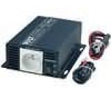 Měnič napětí DC/AC automobilový 230V SINUS 300W síťové 230V