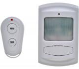 GSM Alarm, pohybový senzor, dálk. ovl., bílý